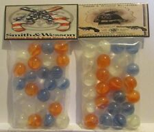 2 Bags Of Smith & Wesson Guns Promo Marbles