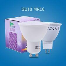 Ampoules LED réflecteur GU10 mr16 5w 3w smd Lustre lumière blanc chaud/ blanc