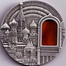 10$ Palau 2012-MOSCOW KREMLIN - as Tiffany, Crystal and Mineral Art + COA