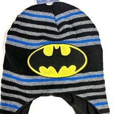 f3ccc1b4767dc BERKSHIRE FASHIONS Boy s Knit Hat Batman Black One Size Toddler Beanie