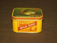 "VINTAGE KITCHEN 2 3/8"" HIGH BON AMI  SOAP TIN CAN  *EMPTY*"