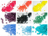 7.5 grams Miyuki Delica 11/0 glass seed beads round All OPAQUE Many colors