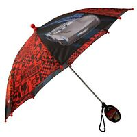 Disney Little Boys Cars Lightning McQueen Rainwear Character Umbrella, Age 3-7