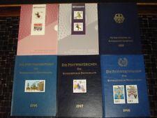 Bund Jahreszusammenstellungen 1993 - 1998 komplett
