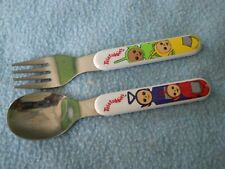 Teletubbies Baby Spoon and Fork Ships Free