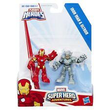 Playskool Heroes Marvel Super Hero Adventures Iron Man and Ultron Figure Set