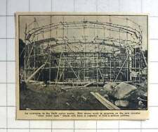1963 An Extension To The Drift Water Works, Work On Clear Water Tank Progressing