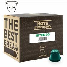 Note D'espresso Capsules de Café Intenso compatible Machine Nespresso