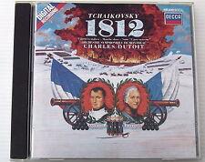 CHARLES DUTOIT . TCHAIKOVSKY . 1812 . ORCHESTRE SYMPHONIQUE DE MONTREAL . CD