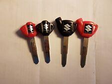 Clé clés clef vierge Suzuki Moto ou scooter non origine avec transpondeur