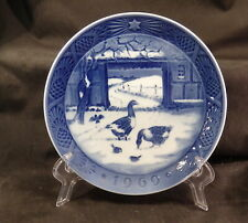 Royal Copenhagen Christmas Plate 1969