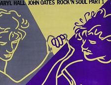 HALL & OATES 1983 ROCK 'N SOUL PART 1 PROMO POSTER