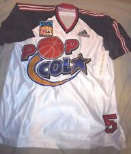 Adidas Throwback Pop Cola Pba #5 Shoot Around Shirt Jersey Basketball Authentic
