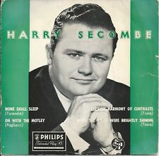 """Harry Secombe - When The Stars Are Brightly Shining 7"""" Vinyl 1956 4 Track EP"""