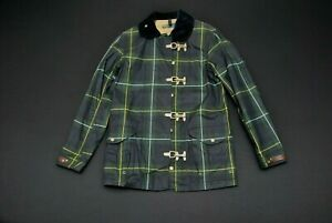 Polo Ralph Lauren Blackwatch Coat Small S Green Blue Plaid Check NWT New Jacket