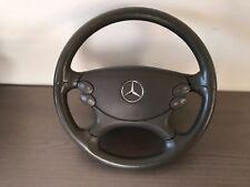 11* Mercedes W211 S211 E Klasse Lenkrad Leder 2114602803 GRAU 7F62