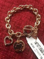 Guess Gold Charm Bracelet.