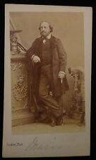 CDV Mario Giovanni (Matteo) De Candia, Italian Opera Singer, c. 1850's-1860's