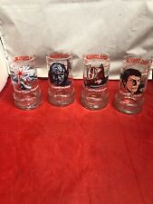 Star Trek 3 The Search For Spock Glasses Taco Bell Collectibles 1984 Set Of 4