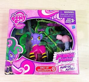 My Little Pony Friendship Is Magic Power Ponies Mane-iac Mayhem Figure D#6