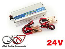Convertisseur Inverseur 24V vers 220V - PUISSANCE 1000W (Max 2000W en crête)