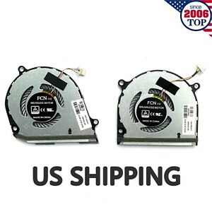 NEW CPU&GPU Cooling Fan For HP ENVY X360 HP 15-DS 15-DR TPN-W142 W143 L53541-001