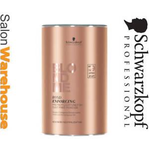 SCHWARZKOPF BLONDME BLEACH Bond Enforcing Premium Lightener 9+ Dust Free Powder