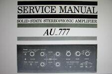 Sansui AU-777 solid state st contrôle service amp manuel inc schem bound anglais