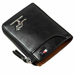Durable Waterproof Multi-function Leather RFID Blocking Wallet New