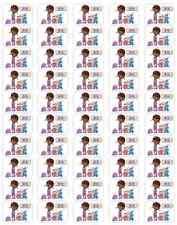 """50 Doc McStuffins and Pets Envelope Seals Labels Stickers, 1"""" x 1.5"""""""