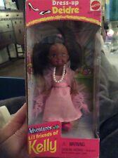 Vintage Barbie's Sister Kelly Club Friend Dress up Deidre Mattel New In Box 1998