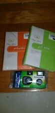 FujiFilm Quicksnap flash camera with 2 photo albums