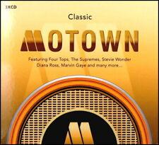 CLASSIC MOTOWN * 60 Greatest Hits * New 3-CD Boxset * All Original Hits * NEW