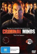 CRIMINAL MINDS : SEASON 1 : NEW DVD