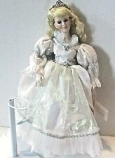 Paradise Galleries Treasury Collection Sleeping Beauty PORCELAIN DOLL 16""