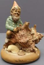 Signed Tom Clark Gnome Figurine Skipper Sea Shell 1983