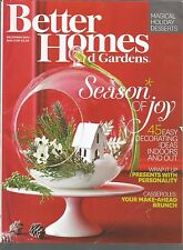 Better Homes and Gardens December 2014  45 Decorating Ideas/Make-Ahead Brunch