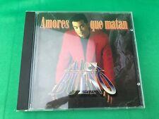 """ALEX BUENO - """" AMORES QUE MATAN""""- CD"""