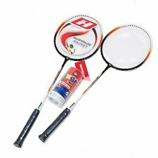 TJ Global Premium Quality Badminton Racquet, Pair of 2 Rackets with 3 Shuttle...