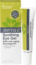 Soothing Eye Gel with Pycnogenol, Derma E, 0.5 oz