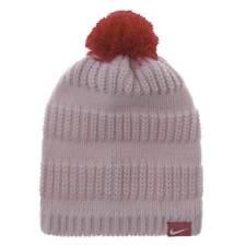 Nike Pom Pom Knit Ski beanie Cap Hat 7   16 X - Baby Pink 54e33d9c4