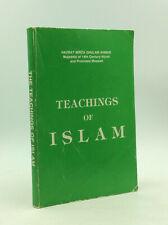 TEACHINGS OF ISLAM by Hazrat Mirza Ghulam Ahmad - 1983 -