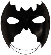 Maschera Nero Pipistrello Batman Party Costume Supereroe Costume Halloween Occhi Faccia Divertente