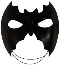 Máscara de Murciélago Batman Fiesta Negro Fancy Dress Superhéroe Disfraz Halloween Divertido Cara Ojo