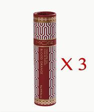 3 x New MOR Little Luxuries BLOOD ORANGE PERFUME OIL 9ml Mor Roll On