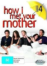 HOW I MET YOUR MOTHER (COMPLETE SEASON 4 - DVD SET SEALED + FREE POST)