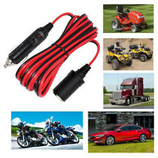 Car Cigarette-Cigar Lighter Male to Female Extension Cable Charger Socket 1M