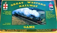 Great Western Railway GWR Train Board Game Gibsons 1980s COMPLETE RARE see pics