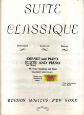 Suite classique - Cornet and Piano / Flute (or Oboe) and Piano / Bb Tenor Sax