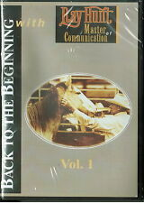 Back To The Beginning with Ray Hunt Vol 1 DVD ; Horse Training Brand New